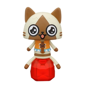 Monster Hunter 3D Jigsaw Puzzle - Airou (Crystal ver.) - 魔物獵人 3D立體拼圖 - Airou貓 (坐寶石版本)