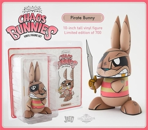 Chaos Bunnies #07 by Joe Ledbetter - Pirate Bunny - JLed 混沌兔系列#07 - 海盜兔