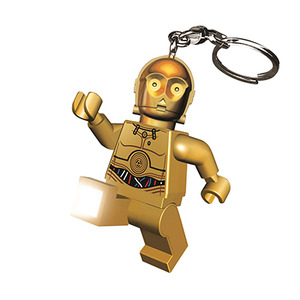 LEGO LED Key Light Star Wars seires - C-3PO - 樂高 LED燈鑰匙圈 星際大戰系列 - C-3PO