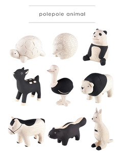 Wooden Cute Animal (polepole animal) Part 4 - single - 木製可愛小動物 單款 Part 4