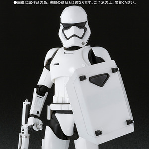 S.H.Figuarts Star Wars EP7 - First Order Stormtrooper (Shield & Bat set) - SHF 星際大戰: 原力覺醒 - 第一軍團風暴白兵 (盾 & 棍 豪華組)