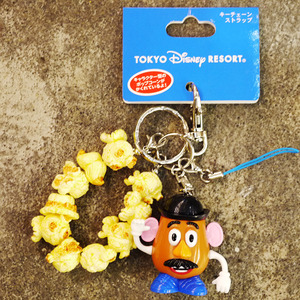 Disney Mini Popcorn Case Style Keychain - Mr. Potato Head - Disney限定 迷你爆米花筒鑰匙圈吊飾 - 蛋頭先生