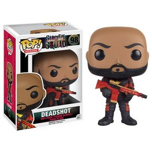 Suicide Squad POP! vinyl figure - Deadshot (No Mask) - 自殺突擊隊 POP!人偶 - 死射 (脫面具版)