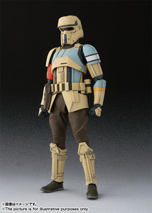 S.H.Figuarts Rogue One: A Star Wars Story - Shore Trooper - SHF 星際大戰外傳: 俠盜一號 - 岸防兵