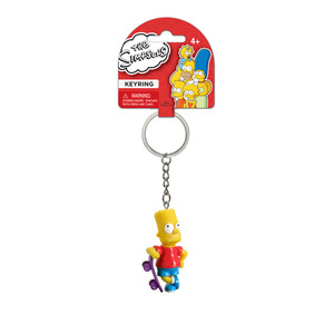 The Simpsons 3-D mini figure key chain - Bart Simpson - 辛普森家族 3D迷你人偶鑰匙圈 - 霸子辛普森