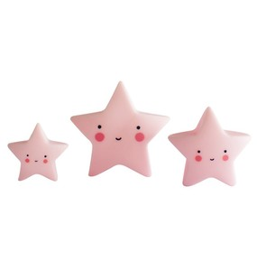 Little Lovely Minis - Stars 3pcs set Pink - 家飾小物 - 星星三件組 粉紅色款