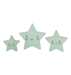 Little Lovely Minis - Stars 3pcs set Mint - 家飾小物 - 星星三件組 薄荷色款
