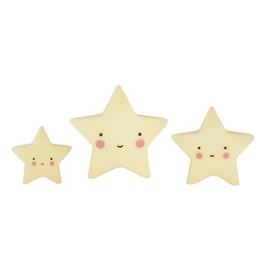 Little Lovely Minis - Stars 3pcs set Yellow - 家飾小物 - 星星三件組 黃色款