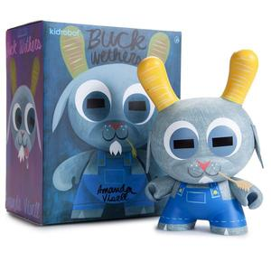 "8"" Dunny Buck Wethers by Amanda Visell - Grey - 山羊巴克 8"" Dunny - 灰色版"