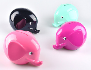 Föreningsbanken Norsu Money Box - single - 芬蘭銀行 小象存錢筒 - 單款