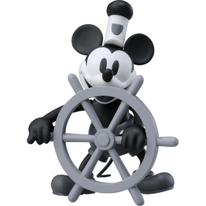 Disney Steamboat Willie METACOLLE Metal Collection - Mickey Mouse - 迪士尼 蒸汽船威利 金屬製迷你人偶 - 米奇