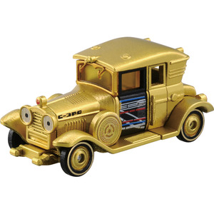 Star Wars Tomica Star Cars 04(NEW) - C-3PO  Classic Car - 星際大戰 多美小車 SC-04(新版編號) - C-3PO 老爺車