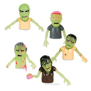 Archie McPhee Glow Finger Zombies - assortment - 玩偶指套 - 夜光殭屍系列 - 隨機單抽