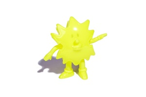 Devilock Palm Boy Sofubi (Soft Vinyl Figure) - Yellow - Palm Boy 2017版軟膠人偶 - 螢光黃
