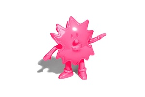 Devilock Palm Boy Sofubi (Soft Vinyl Figure) - Pink - Palm Boy 2017版軟膠人偶 - 螢光桃紅