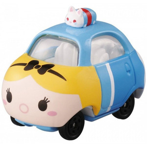 Tsum Tsum Disney Motor Tomica - Alice in the Wonderland Alice Tsum Top - 迪士尼多美小車 Tsum Tsum - 愛麗絲夢遊仙境 愛麗絲 疊頂