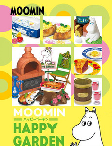 Moomin Happy Garden series - display case of 8pcs - 嚕嚕米 快樂花園 盒玩系列 - 中盒內含8抽