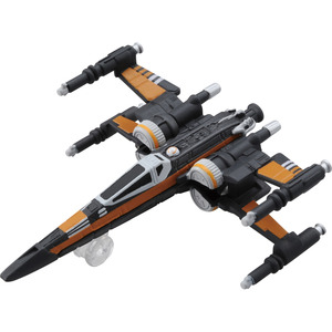 Star Wars Vehicle Tomica TSW-004(NEW) Poe Dameron's X-wing Fighter (Last Jadi) - 星際大戰交通工具 多美小車 TSW-04(新編號) X翼戰機 波專用機 (EP8版本)