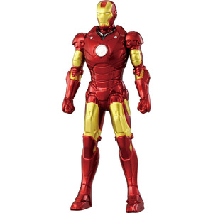 Marvel METACOLLE Metal Collection - Iron Man Mark III - 漫威 金屬製迷你人偶 - 鋼鐵人MK3