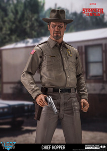 "Stranger Things 7"" action figure - Chief Hopper - 怪奇物語 7""可動人偶 - 哈普警長"