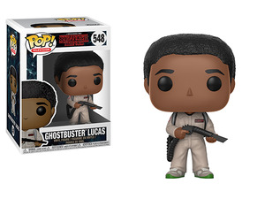 Stranger Things POP! vinyl figure - Ghostbuster Lucas - 怪奇物語 POP!人偶 - 盧卡斯 魔鬼剋星裝扮