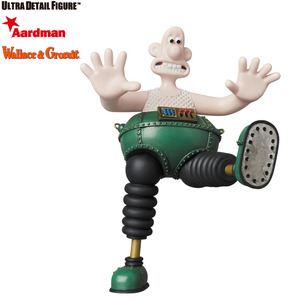 UDF Aardman series 1 - Wallace & Gromit - Wallace with Techno Trousers - UDF 阿德曼動畫工廠系列 第一彈 - 酷狗寶貝 穿著機械褲子的華力士