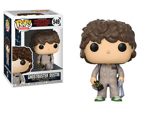 Stranger Things POP! vinyl figure - Ghostbuster Dustin - 怪奇物語 POP!人偶 - 達斯汀 魔鬼剋星裝扮