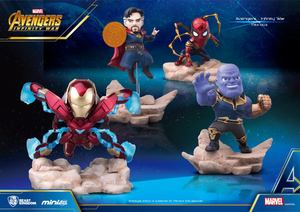 Mini Egg Attack 003 Avengers: Infinity War mini figure - Single - Iron Spider / Iron Man Mark 50 / Doctor Strange / Thanos - MEA-003 復仇者聯盟3:無限之戰 Q版人物 - 單款 - 鋼鐵蜘蛛人 / 鋼鐵人MK50 / 奇異博士 / 薩諾斯 (野獸國商品)