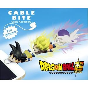 Cable Bite Cable Accessory for iPhone - Dragon Ball Super - SS Son Goku / Frieza / Son Goku - iPhone充電線用 咬線裝飾保護套 - 七龍珠超 - 超級賽亞人孫悟空 / 弗利沙 / 黑髮孫悟空
