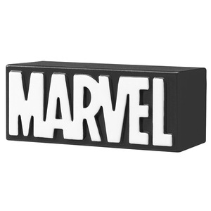 Marvel METACOLLE Metal Collection - Logo Collection Black - 漫威 金屬製迷你人偶 - Logo 黑色款