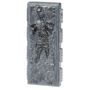 Star Wars METACOLLE Metal Collection #16(NEW) - Han Solo (Carbonite)  - 星際大戰 金屬製迷你人偶 #16(新編號) - 碳化韓索羅