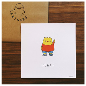 Flabjacks Art Print - Flart - 複製畫 - 罷紫