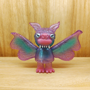 - Bwana Spoons Vinyl Figure - Steven the Bat Purple Sparkle ver.