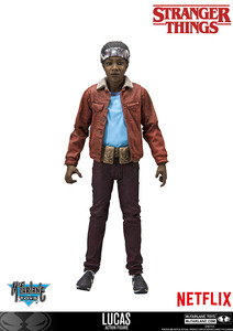 "Stranger Things 7"" action figure - Lucas - 怪奇物語 7""可動人偶 - 盧卡斯"