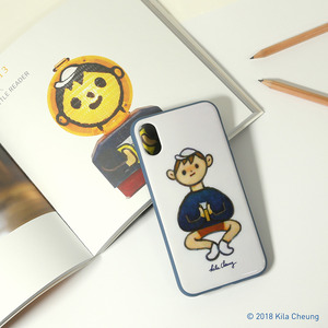 HOW2WORK iPhoneX case - Novelist by Kila Cheung - iPhoneX 手機保護殼 - Kila Cheung - Novelist