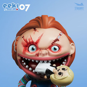 EEK! Big Mouth Horror Series #07 - Chucky - EEK! 飢餓殺手 07 - 恰吉