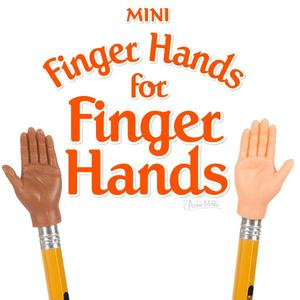 Archie McPhee mini finger hands for Finger Hands - assortmen - 玩偶指套 給小手手用的小小手 - 隨機單抽