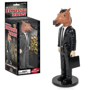 Archie McPhee Creepy Horse Man Dashboard Wiggler - 獵奇馬頭西裝男 搖頭公仔