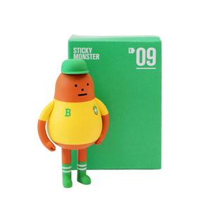 Sticky Monster Lab (SML) Figure Nation Series - N09 Brasil - 黏黏怪物研究所 國家系列公仔 N09 巴西