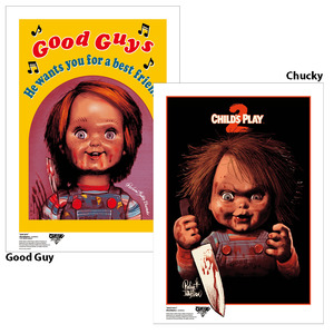 Rockin' Jelly Bean X Child's Play 2 Silkscreen Print Poster - Good Guy / Chucky - RJB 絹印海報 - 靈異七殺 - 好孩子 / 恰吉 款