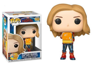 Captain Marvel POP! vinyl bobble-head - Captain Marvel (with Lunch Box) - 驚奇隊長 POP!搖頭娃 - 驚奇隊長 (拿便當盒)