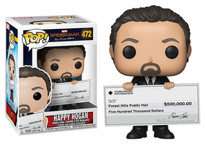 Spider-man: Far From Home POP! Bobble-Head - Happy Hogan - 蜘蛛人: 離家日 POP!搖頭娃 - 快樂霍根