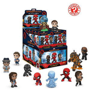 Spider-man: Far From Home mystery minis - assortment  - 蜘蛛人: 離家日 神秘盒玩 - 隨機單抽