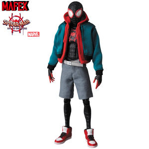 MAFEX Spider-man: Into the Spider-verse - Spider-man (Miles Morales ) - MAFEX 蜘蛛人:新宇宙 - 蜘蛛人 (麥爾斯莫拉雷斯)