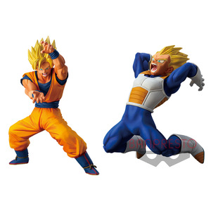 Dragon Ball Super Super Soldier Story prize figure - Chapter 1 Good Rival Forever - Super Saiyan Son Goku / Vegeta - 七龍珠超 超戰士列傳 景品人偶 ~第一章 永遠的好敵手~ 超賽悟空 / 超賽達爾