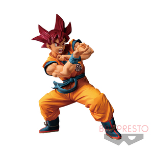 Dragon Ball Super Blood of Saiyans prize figure - Special VI Super Saiyan God Super Saiyan (SSGSS) Son Goku - 七龍珠超 賽亞人之血 景品人偶 - 特別篇6 - 超級賽亞人神 超級賽亞人 孫悟空