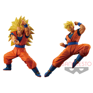 Dragon Ball Super Super Soldier Story prize figure - Chapter 3 The Strongest Father & Sun - Super Saiyan3 Son Goku / Son Gohan(Youth)  - 七龍珠超 超戰士列傳 景品人偶 ~第三章 最強的親子~ 超級賽亞人3 孫悟空 / 孫悟飯(青年)