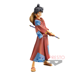 One Piece The Grandline Men prize figure Wano Country Vol.1 - Luffy Taro - 海賊王 偉大航道上的男人們 DXF景品人偶 和之國篇 Vol.1 - 魯夫太郎