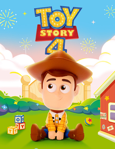 POP MART X Disney Pixar - Toy Story 4 Sitting Family series - assortment - 玩具總動員4 坐坐家族系列盒玩 - 隨機單抽