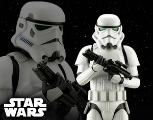 ARTFX Star Wars: New Hope - Stormtrooper - ARTFX  星際大戰EP4 - 風暴白兵